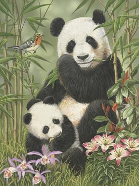 Panda Paradise by William Vanderdasson