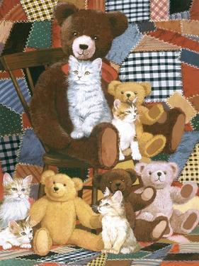 Teddy's and Friends by William Vanderdasson