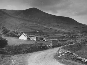A View Showing a Hillside on Dingle Peninsula, Kerry County, Ireland by William Vandivert