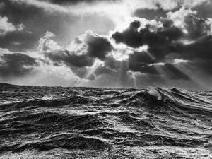 North Atlantic Wave Whipped High in a Midwinter Squall by William Vandivert