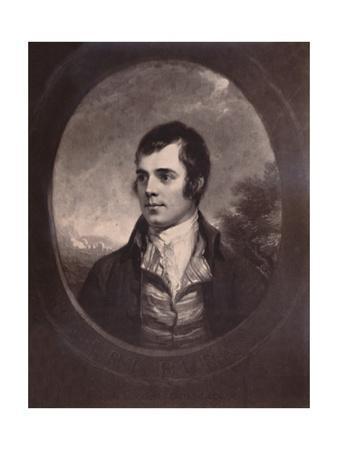 Robert Burns, Scottish poet, 19th century (1894)