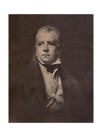 Sir Walter Scott, Scottish novelist and poet, c1826 (1894)