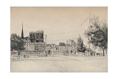 'The Towers of Notre-Dame', 1915
