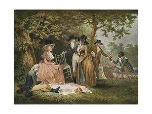 Anglers' Repast, 1789, (1902) by William Ward