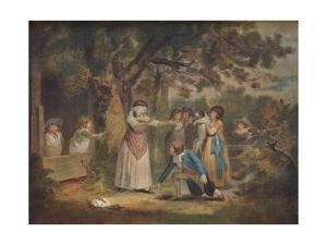 Blind Man's Buff, 1788, (1917) by William Ward