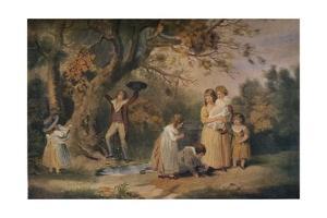 'Children Bird Nesting', 1789 by William Ward