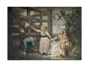 Compassionate Children, c1793, (1916) by William Ward