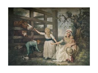 Compassionate Children, c1793, (1916)