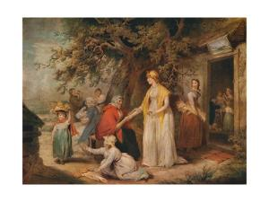 'Outside a Country Alehouse', c18th century by William Ward