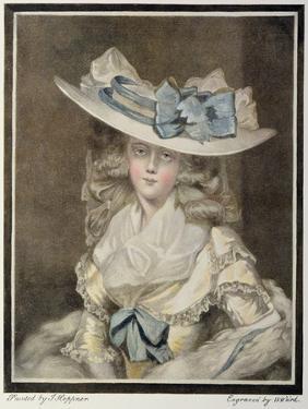 Portrait of Mrs. Benwell by William Ward