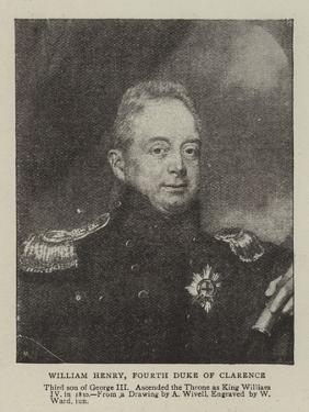 William Henry, Fourth Duke of Clarence by William Ward