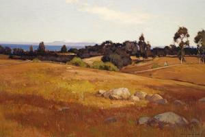 Near Santa Barbara by William Wendt