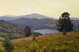 Zaca Lake by William Wendt