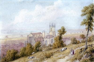 Hythe Church and Martello Tower, 19th Century
