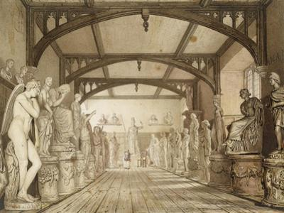 The Sculpture Gallery in the Examination Schools