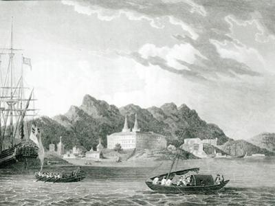 Harbour of Rio Janiero, with the Benedictine Monastery