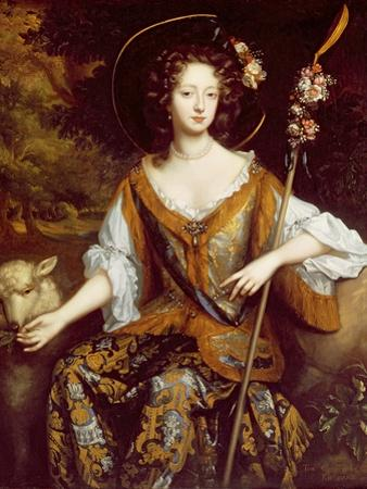Elizabeth Jones, Countess of Kildare, C.1684 by William Wissing