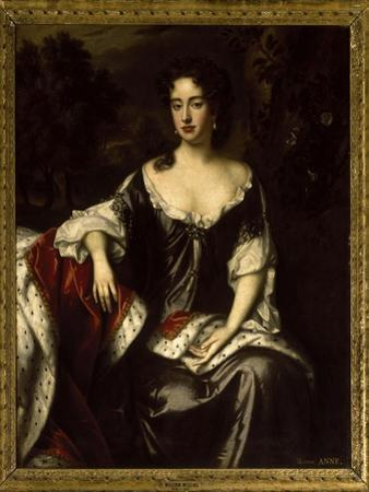 Portrait of Queen Anne when Princess of Denmark, 1687 by William Wissing