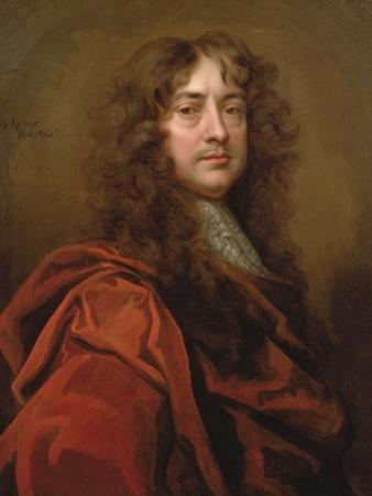 Portrait of Sir Peter Lely (1618-80) by William Wissing
