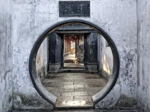 A Gateway at Yu Garden, Shanghai, China by William Yu Photography