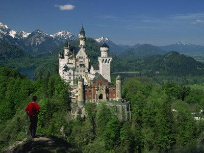 Neuschwanstein Castle, Germany, Europe