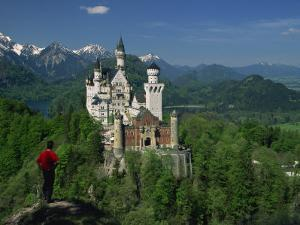 Neuschwanstein Castle, Germany, Europe by Williams Andy