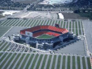 Aerial of Joe Robbie Stadium, Miami, FL by Willie Hill Jr.