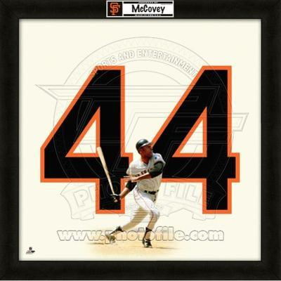 Willie McCovey, Giants representation of the player's jersey