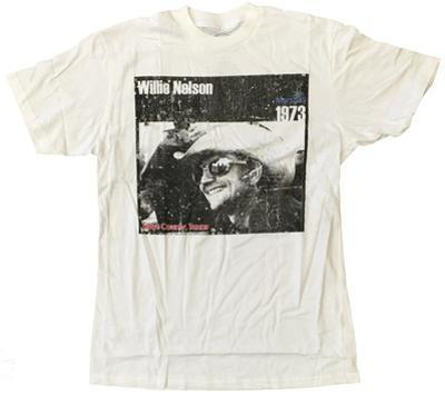 Willie Nelson- Hays County, Texas Distressed