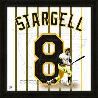 Willie Stargell, Pirates representation of the player's jersey
