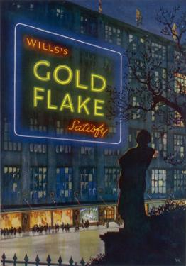 Wills's Gold Flake Cigarettes Satisfy