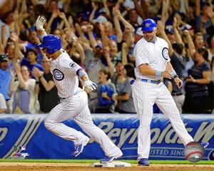Willson Contreras 1st MLB Home Run- June 19, 2016