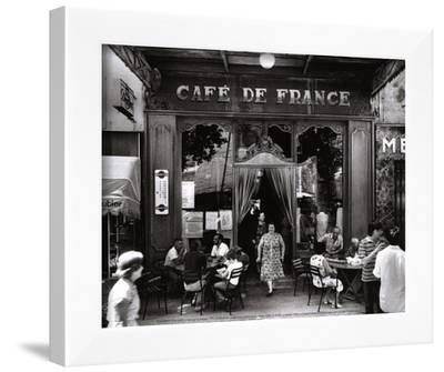 Café de France by Willy Ronis