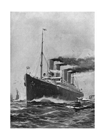 Steamship 'Deutschland'
