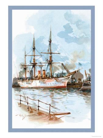 U.S. Navy: Docked