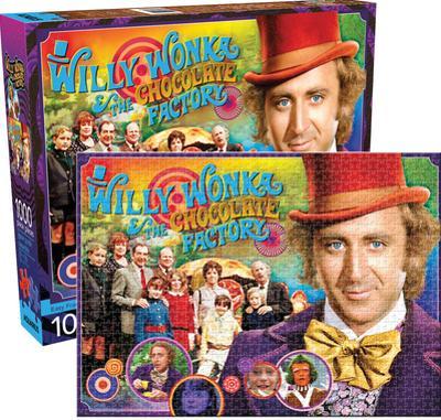 Willy Wonka 1000 Piece Jigsaw Puzzle