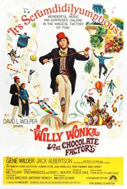 Willy Wonka and the Chocolate Factory, Gene Wilder (Center), 1971