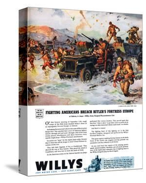 Willys - Fighting Americans…