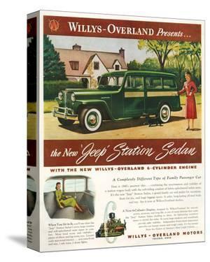 Willys - New Jeep Station Sedan