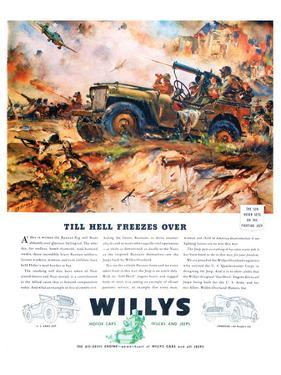 Willys- Till Hell Freezes Over