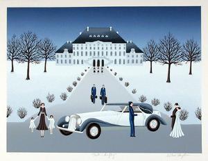 Rolls Royce Wedding by Wilma Longhammer