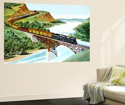 Bridge Crossing - Jack & Jill by Wilmer H. Wickham