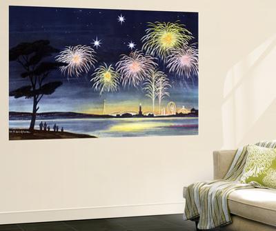 Fireworks Show - Jack & Jill by Wilmer H. Wickham