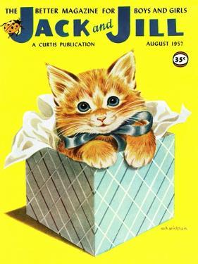 Kitten - Jack and Jill, August 1957 by Wilmer Wickham
