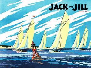 Regatta - Jack and Jill, August 1949 by Wilmer Wickham