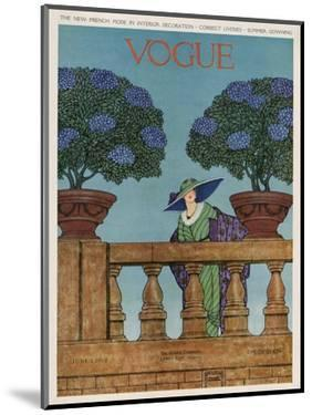 Vogue Cover - June 1912 by Wilson Karcher