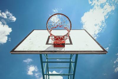 Street Basketball by Win Nondakowit