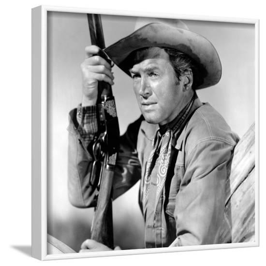 Winchester '73, James Stewart, 1950--Framed Photo