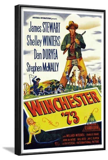 Winchester '73--Framed Art Print