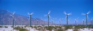 Wind Generators Near Palm Springs California USA